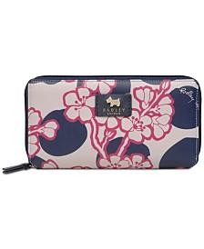 Radley London Blossom Spot Matinee Zip-Around Wallet