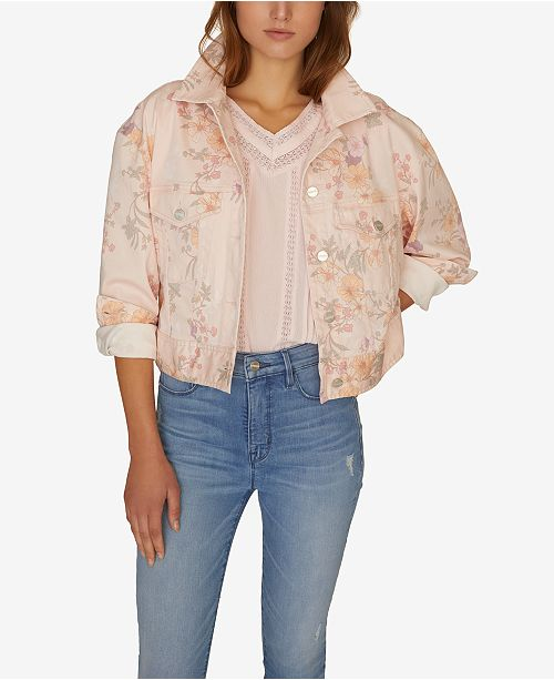 Sanctuary Garden Girl Retro Denim Jacket