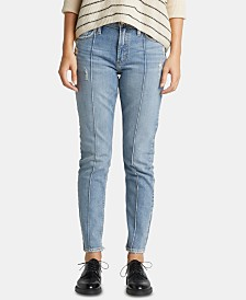 Silver Jeans Co. Frisco Tapered-Leg Skinny Jeans