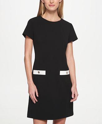 petite a line dresses