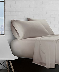 Super Soft Triple Brushed Microfiber 4-Piece Sheet Set - Queen