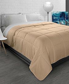 All-Season Soft Brushed Microfiber Down-Alternative Comforter- Full/Queen
