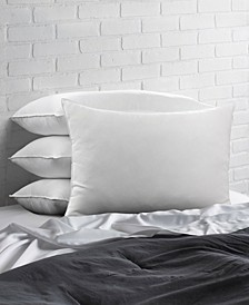 Cotton Blend Superior Down -Like SOFT Stomach Sleeper Pillow - Set of Four - Queen