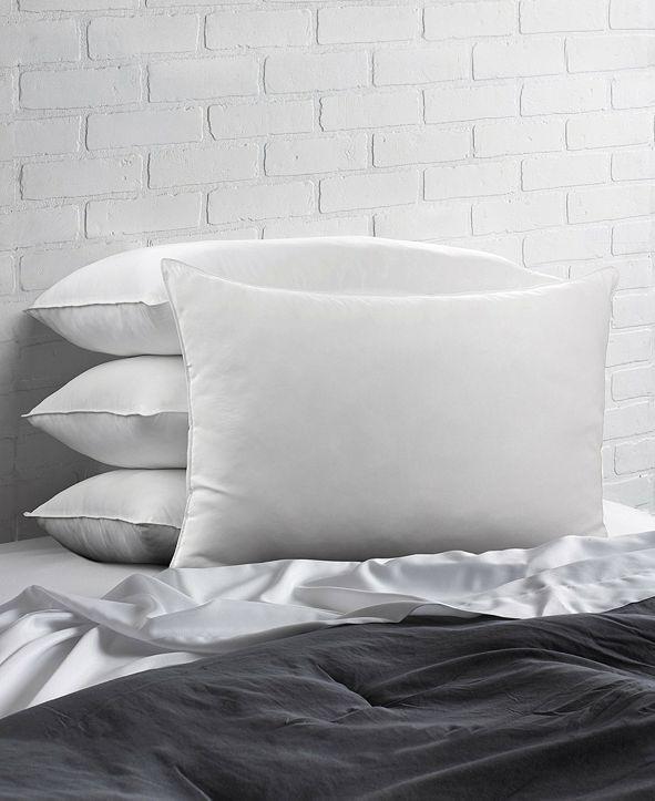 Ella Jayne Cotton Blend Superior Down -Like SOFT Stomach Sleeper Pillow - Set of Four - Standard