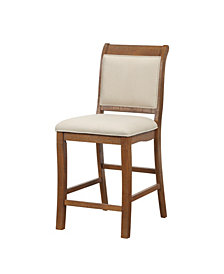 Benzara Birch Wood High Chair, Set of 2