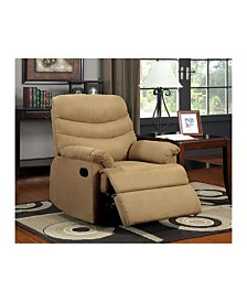 Benzara Pleasant Valley Transitional Recliner Chair with Microfiber