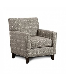 Benzara Contemporary Style Chair with Crystal Pattern