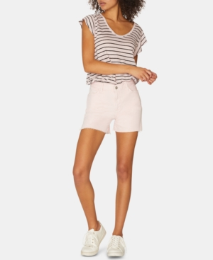 Sanctuary Shorts SIDE-SLIT FRAYED DENIM SHORTS