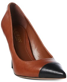 Lauren Ralph Lauren Lindella Leather Pumps