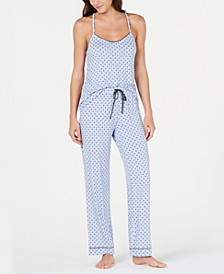 Ultra Soft Knit Tank Top and Pant Set, Created for Macy's