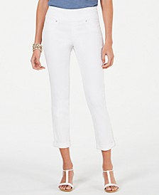 Petite Pull-On Cuffed Skinny Jeans, Created for Macy's
