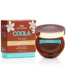 Organic Sunless Tan Luminizing Face Compact, 0.4-oz.