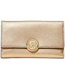 MICHAEL Michael Kors Lillie Pebble Leather Carryall Wallet