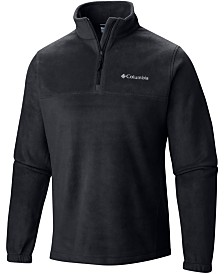 Columbia Men's Quarter-Zip Logo Graphic Coat