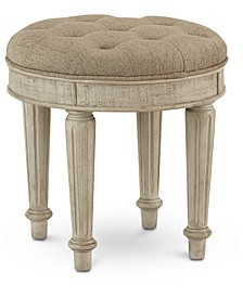 Chelsea Court Vanity Stool, Created for Macy's