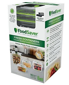 FoodSaver® Fresh 6-Piece Container Set