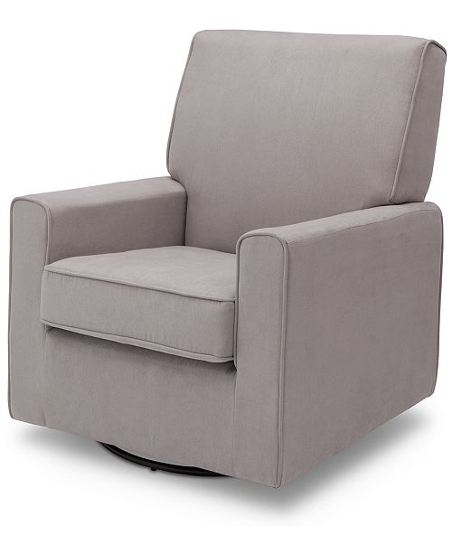 Delta Ava Nursery Glider Swivel Chair, Quick Ship