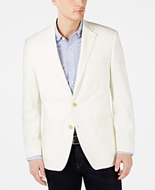 Men's Performance Stretch 10-Pocket Solid Blazer