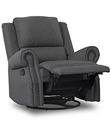 Children Dylan Nursery Recliner Glider Swivel Chair