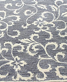 Downtown HG325 Gray Area Rug