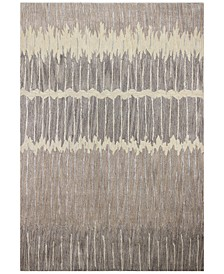 """Downtown HG373 Taupe 5'6"""" x 8'6"""" Area Rug"""