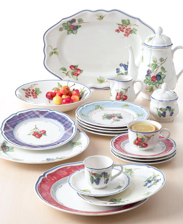 "Villeroy & Boch - ""Cottage Inn"" Salad Plate"