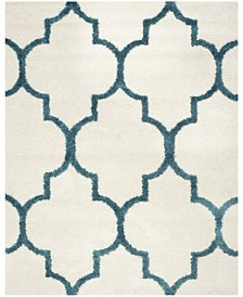 Safavieh Shag Kids Ivory and Blue 8' x 10' Area Rug