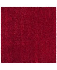 Safavieh California Red 4' x 4' Square Area Rug
