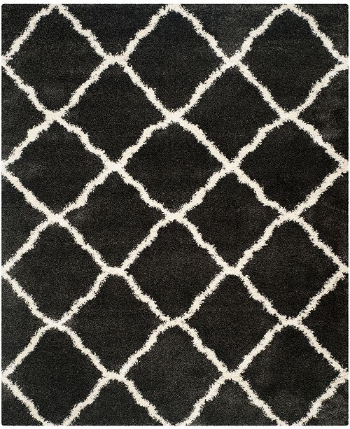 "Safavieh Belize Charcoal and Ivory 8'6"" x 12' Area Rug"