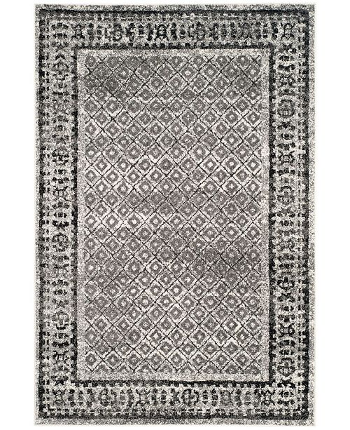 Safavieh Adirondack Ivory and Silver 4' x 6' Area Rug