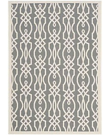 "Martha Stewart Collection Cement 6'7"" x 9'6"" Area Rug, Created for Macy's"