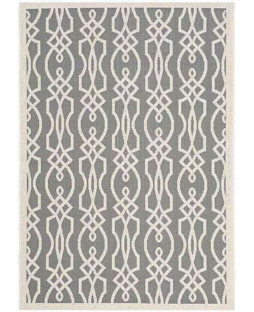 """Martha Stewart Collection Cement 6'7"""" x 9'6"""" Area Rug, Created for Macy's"""