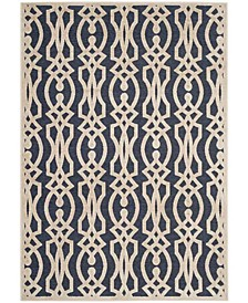 """Azurite Blue 8' x 11'2"""" Area Rug, Created for Macy's"""