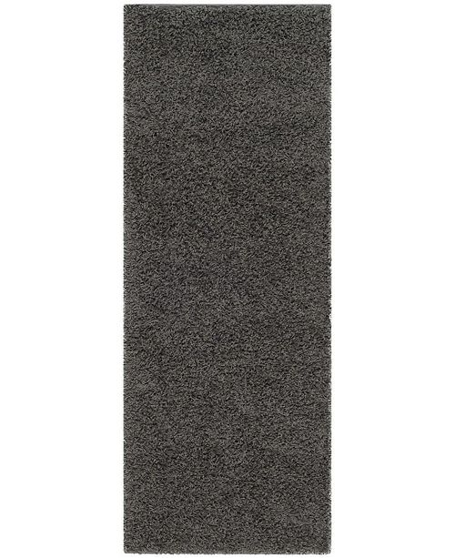 "Safavieh Athens Dark Grey 2'3"" x 10' Runner Area Rug"