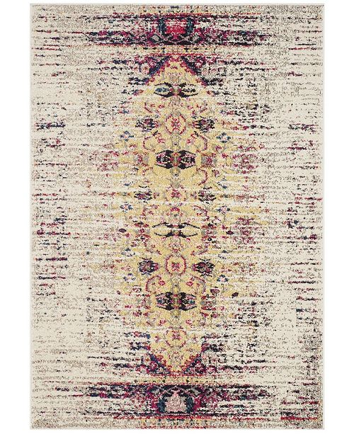 "Safavieh Monaco Ivory and Pink 5'1"" x 7'7"" Area Rug"