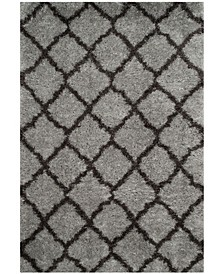 """Indie Gray and Dark Gray 6'7"""" x 9'2"""" Area Rug"""