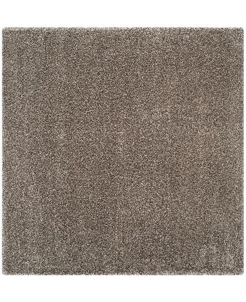 Safavieh Shag Gray 10' x 10' Square Area Rug