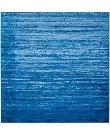 Safavieh Adirondack Light Blue and Dark Blue 4' x 4' Square Area Rug