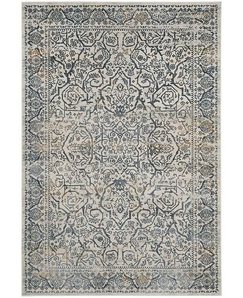 Safavieh Princeton Cream and Slate 9' x 12' Area Rug