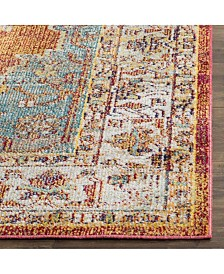 Safavieh Crystal Orange and Light Blue 4' x 6' Area Rug
