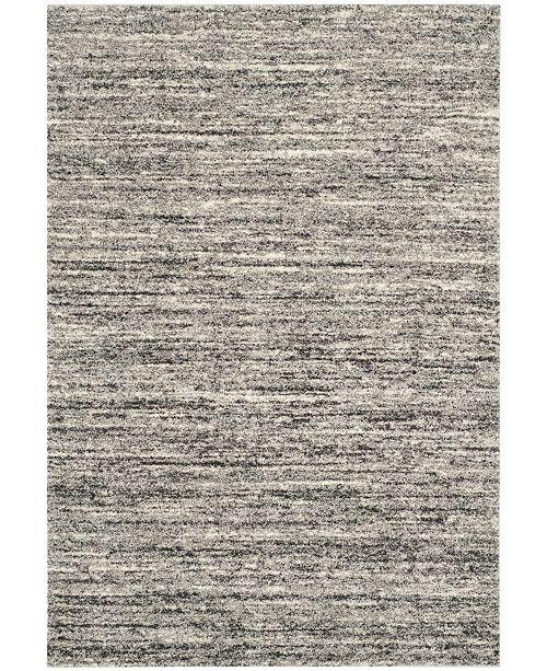 Safavieh Retro Ivory and Gray 10' x 14' Area Rug