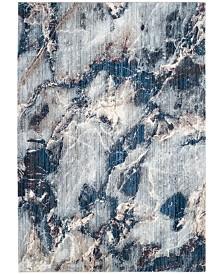 Safavieh Monray Blue and Ivory 7' x 7' Square Area Rug