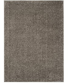 Safavieh New York Shag Gray 4' X 6' Area Rug