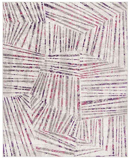 Safavieh Skyler Gray and Pink 8' x 10' Area Rug