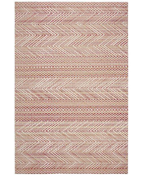 Safavieh Montage Pink and Multi 4' x 6' Area Rug