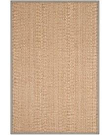Safavieh Natural Fiber Natural and Gray 10' x 14' Sisal Weave Area Rug