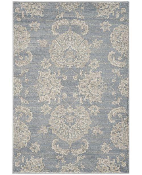 """Safavieh Vintage Light Blue and Ivory 4' x 5'7"""" Area Rug"""