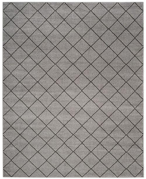 Safavieh Tunisia Gray and Black 9' x 12' Area Rug