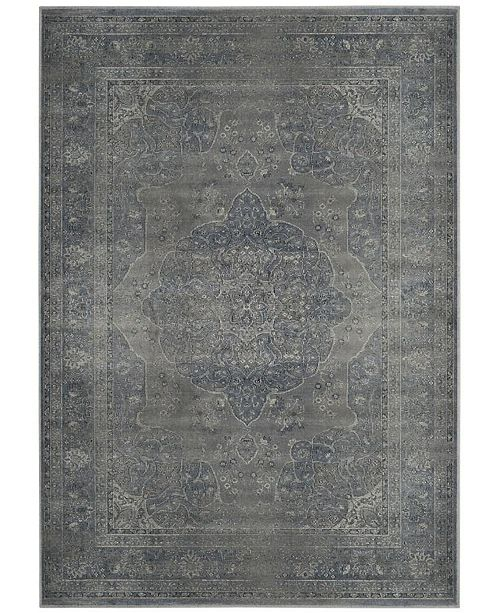 "Safavieh Vintage Light Blue and Light Gray 8' x 11'2"" Area Rug"