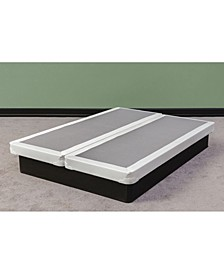"Fully Assembled Long Lasting 4"" Split Box Spring for Mattress, Full"